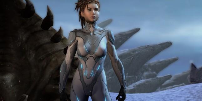 Starcraft 2 Heart of The Swarm Screenshot
