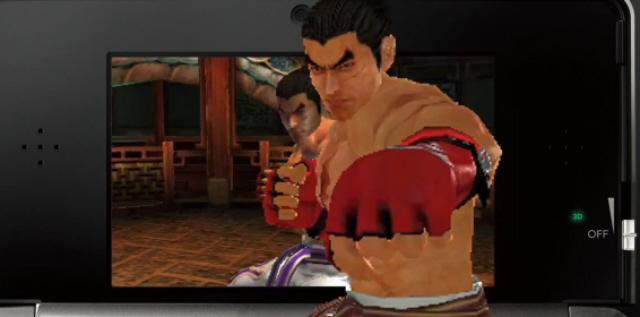 Tekken 3D Characters List Screenshot