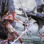 Final Fantasy XIII-2 Battle Wallpaper