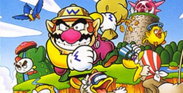 Super Mario Land 3 Wario Land 1 Box Artwork