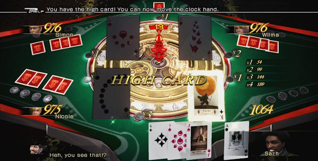 Final Fantasy XIII-2: Sazh's Episode: Heads or Tails? Fortune Medals Casino Screenshot