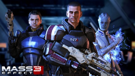 Mass Effect 3 Cast Image