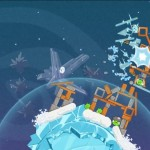 Angry Birds Space Blue Birds Screenshot