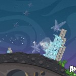 Angry Birds Space Ice Bird Screenshot