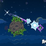 Angry Birds Space Lazer Bird Screenshot