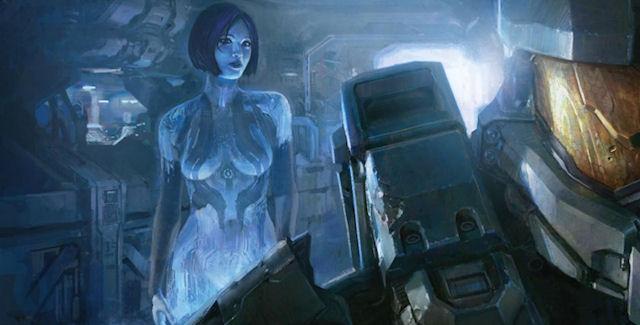 Cortana Model In Halo 4