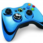 Xbox 360 Chrome Controller Blue Color