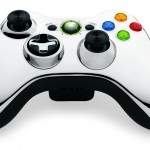 Xbox 360 Chrome Controller Silver Color