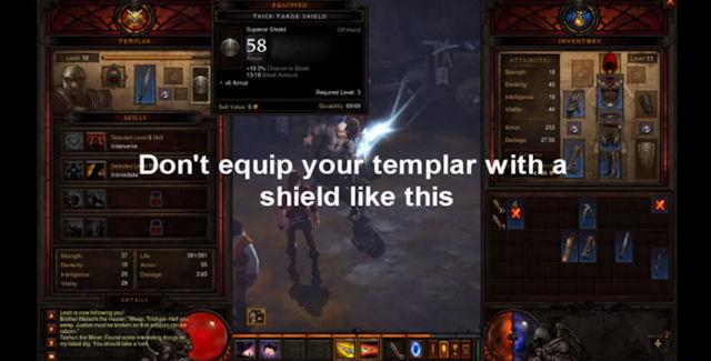 Diablo 3 Glitch Screenshot