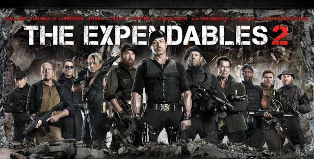 > Calle13's The Expendables 2 Movie Review - Photo posted in The TV and Movie Spot | Sign in and leave a comment below!