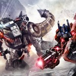Transformers Fall of Cybertron Grimlock & Optimus Prime Wallpaper