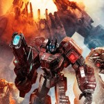 Transformers Fall of Cybertron Metroplex Wallpaper