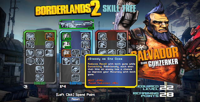 Borderlands 2 Skill Trees Guide