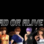 Dead or Alive 5 Logo Wallpaper