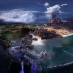 Lightning Returns: Final Fantasy XIII Navus Partus Islands Artwork