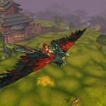 World of Warcraft: Mists of Pandaria Crimson Pandaren Phoenix Mount