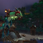 World of Warcraft: Mists of Pandaria Jade Cloud Serpent Mount