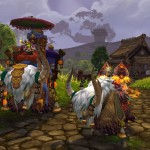 World of Warcraft: Mists of Pandaria Riding Yaks Mount