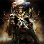 Assassin's Creed 3 Evil George Washington artwork