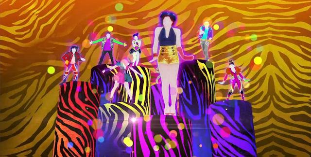 Just Dance 4 Neon