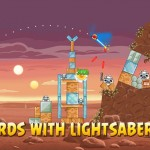 Angry Birds Star Wars Luke Skywalker screenshot