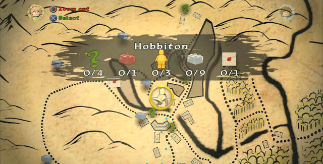 Lego Lord of the Rings Collectibles Locations Guide