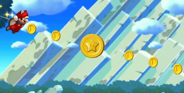 Mario Coins Wallpaper New Super Mario Bros u Star