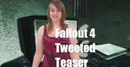 Fallout 4 Tweeted Teaser