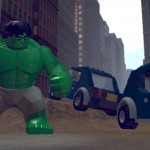 Lego Marvel Super Heroes Hulk Model