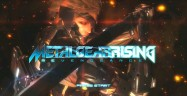 Metal Gear Rising: Revengeance Demo title screen