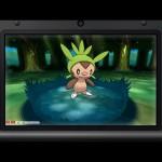 Pokemon X and Y Chespin Screenshot