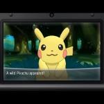 Pokemon X and Y Pikachu Screenshot