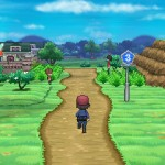 Pokemon X and Y Road 3 Screenshot