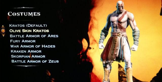 God of War Ascension Costumes