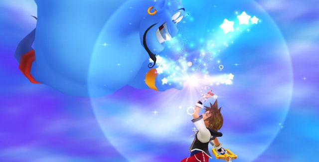 Kingdom Hearts HD 1.5 ReMIX high five