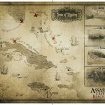 Assassin's Creed 4 Map Wallpaper