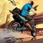 Grand Theft Auto 5 Franklin Bike Chase Wallpaper