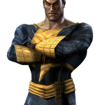 Injustice Gods Among Us Black Adam Artwork