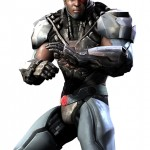 Injustice Gods Among Us Cyborg Artwork