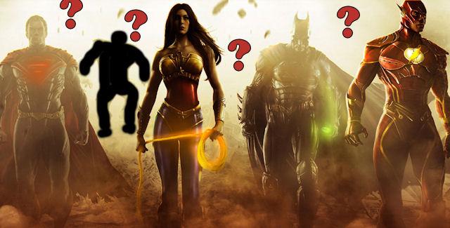 Injustice Gods Among Us Unlockable Characters