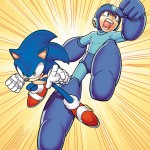 Sonic and Mega Man: When Worlds Collide Comic Artwork