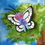 Pokemon 012 Butterfree Artwork