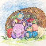 Pokemon 019 Rattata Artwork