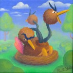 Pokemon 085 Dodrio Artwork