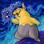 Pokemon 096 Drowzee Artwork