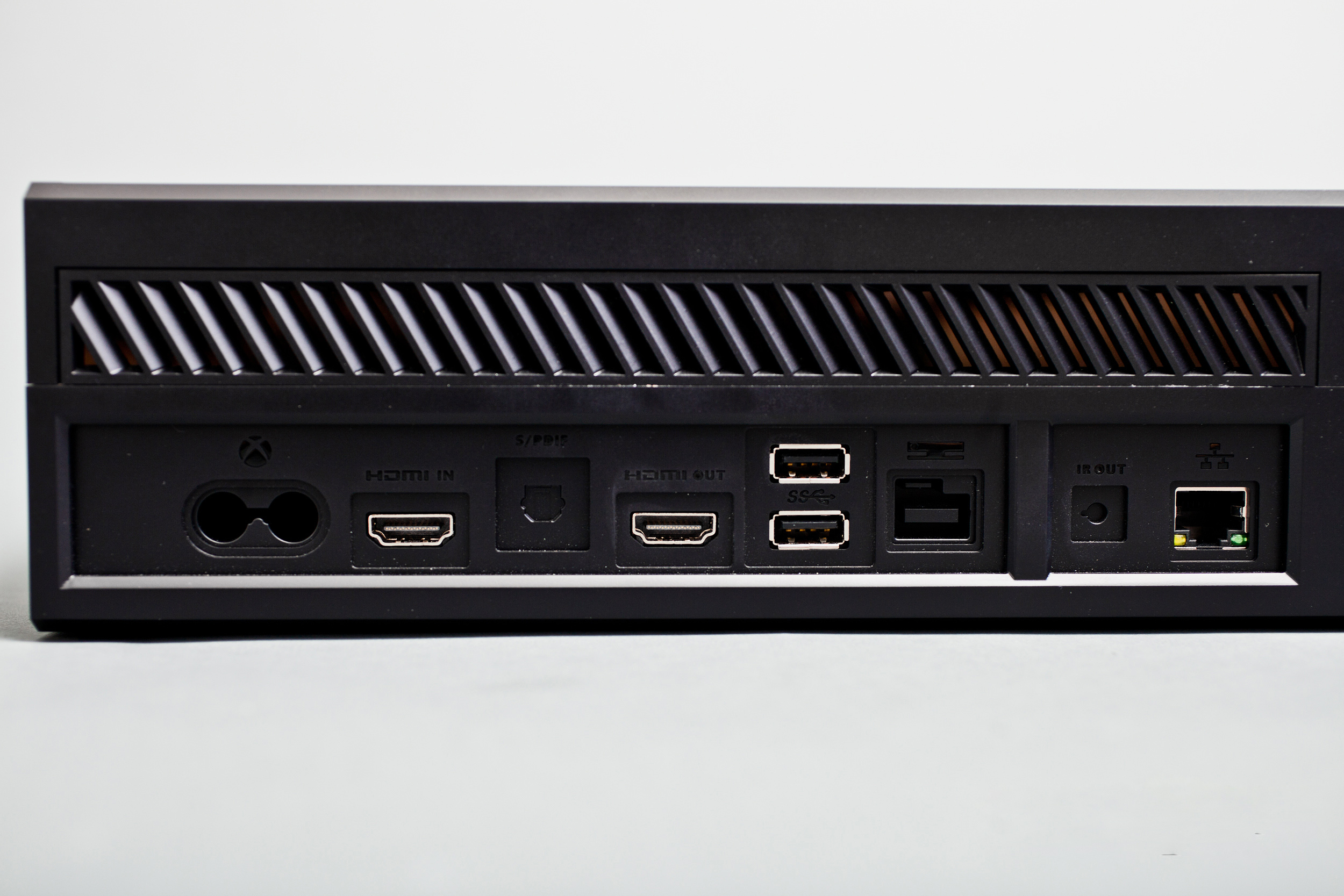 Xbox One Console Back Picture