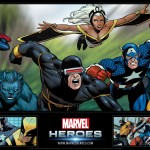 Marvel Heroes Wallpaper 1