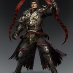 Dynasty Warriors 8 Lu Bu Artwork