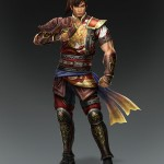Dynasty Warriors 8 Sun Ce Artwork
