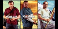 Grand Theft Auto 5 main characters